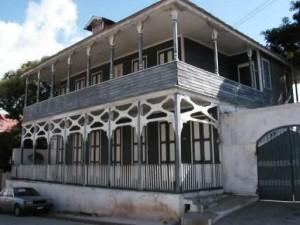 Maison grise de Jacmel
