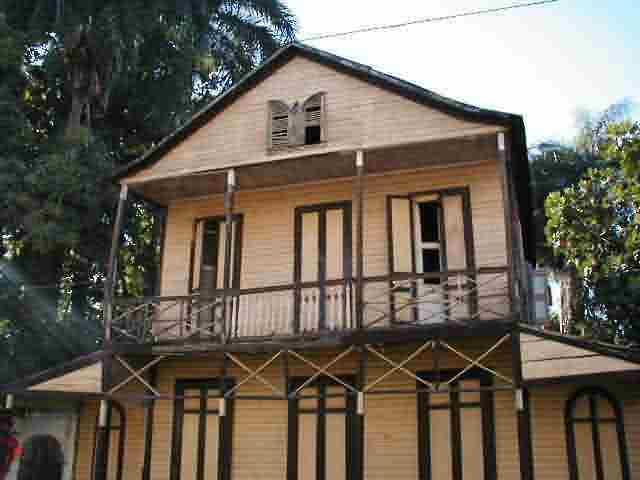 Maison jaune de Jacmel
