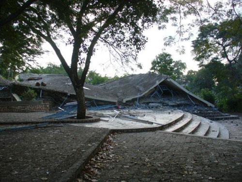 Les bâtiments de l'école primaire