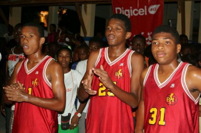 Joueurs  de l'equipe masculine de CAP