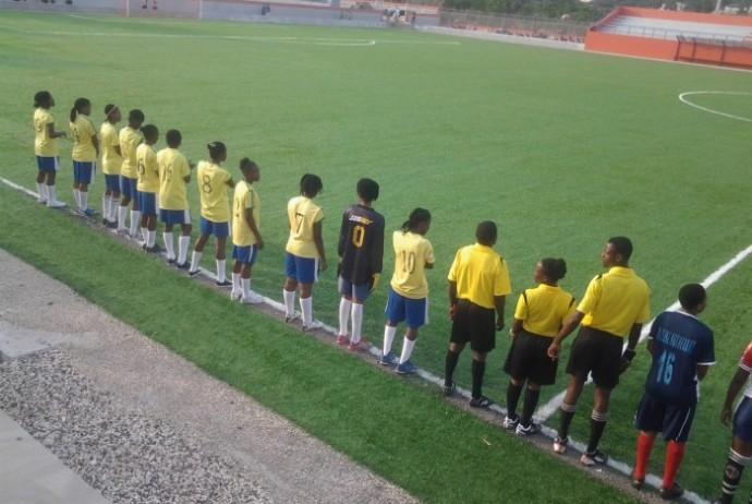 L'equipe feminine du CAP