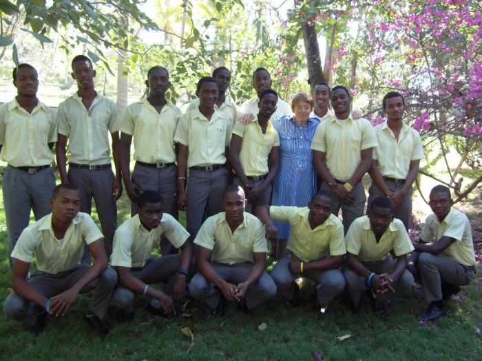 Mme Véronique Rossillon et les garçons philo 2014-2015