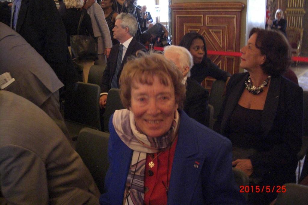 Madame Véronique Rossillon parmi les invités