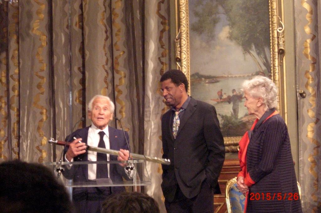 Dany Laferrière et Jean D'Ormesson
