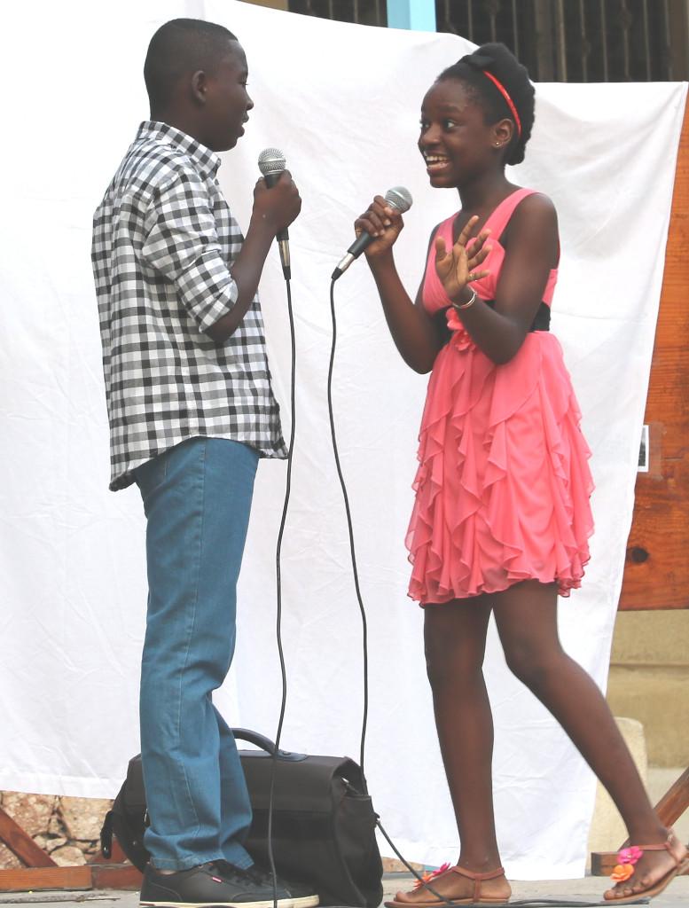 Medjina Marcel et Junior Jasmin