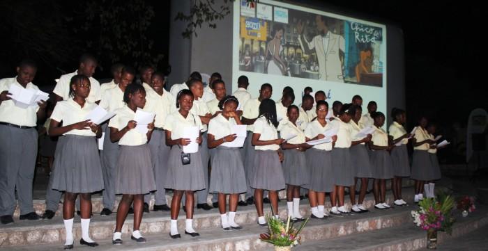 La classe de 3ème chante Brassens